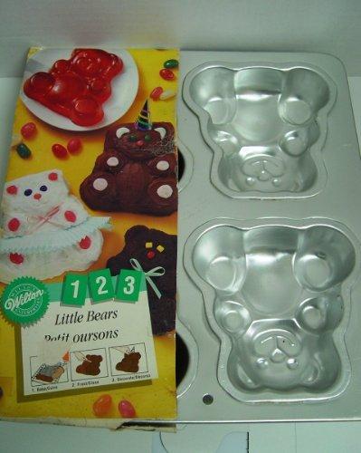 Wilton 1991 Little Bears Cake Pan Jello Mold 2105 9437