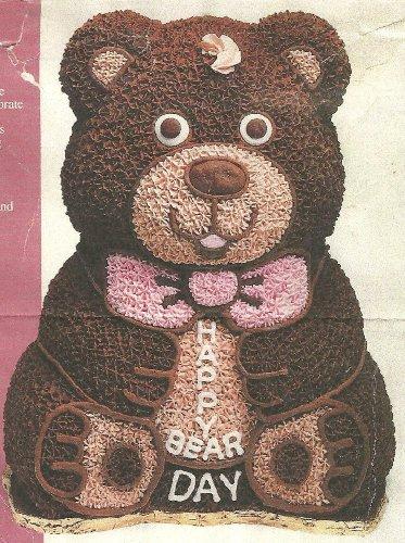 Wilton 3D Stand-Up Teddy Bear Cake Pan Set 2105-2325 1986