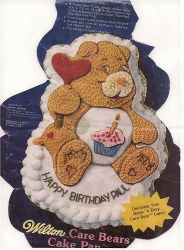Wilton Care BearsFriend BearCheer Bear Cake Pan 2105-1793 1983