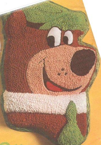 Wilton Yogi Bear Cake Pan 502-178 1975 Jellystone Park Hanna Barbera Retired