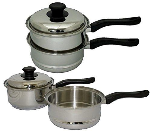 3 Pc Double Boiler Set 3t2