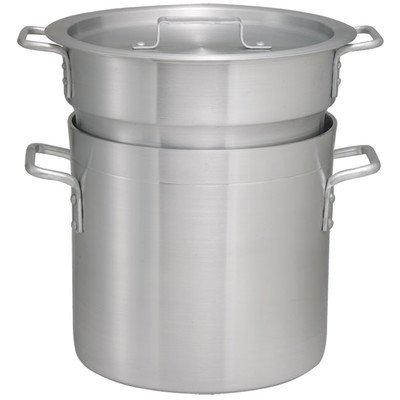 Winco ALDB-8 Aluminum Double Boiler Set 8-Quart by Winco