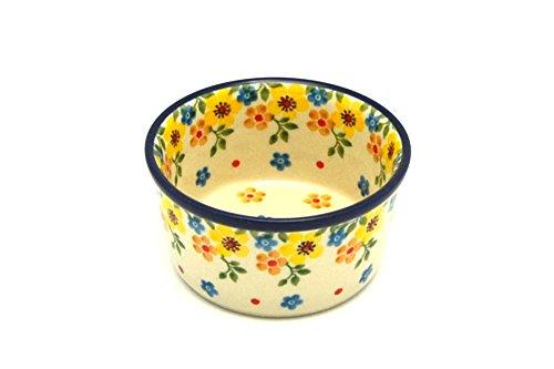 Polish Pottery Ramekin - Buttercup