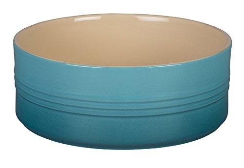 Le Creuset Stoneware Souffle Dish 2 12-Quart Caribbean