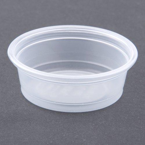 Plastic Souffle Portion Cups 12 Oz Translucent 2500carton