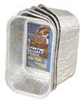 93835 Hefty EZ Foil Bake Mini Loaf Pan 575x325x2 12-5PKSCS