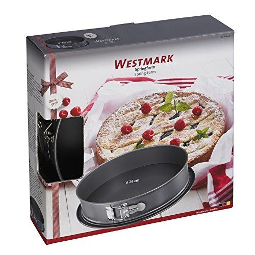 Westmark 33662260 Nonstick Springform Pan with Leak Proof Base 10 Gray