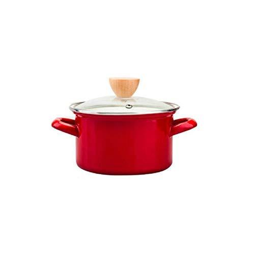 Pot Soup Pot Milk Cooking Pots Non Stick Stock Pots Cookware Saus Pan Sauce Cookware Casserole 15lred