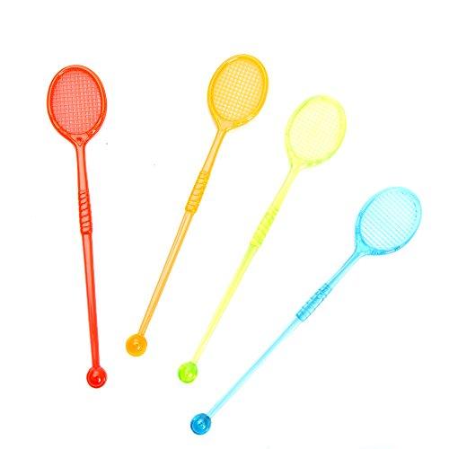 Tennis Racquet Drink Stirrers
