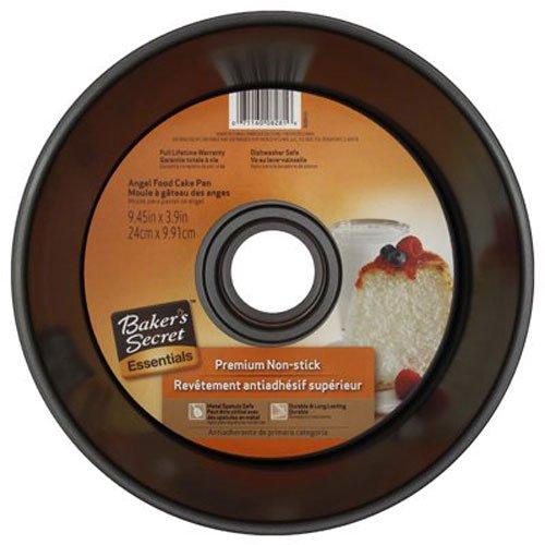 WORLD KITCHEN 1075044 2-Piece Angel Food Cake Pan Metallic