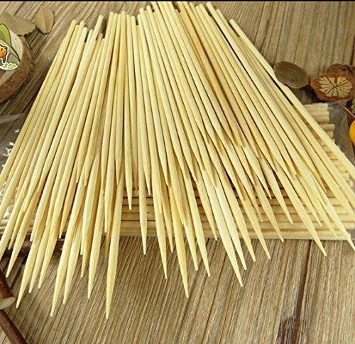 Kabob skewers PACK of 500 8 inch bamboo sticks made from 100  natural bamboo - shish kabob skewers - 500