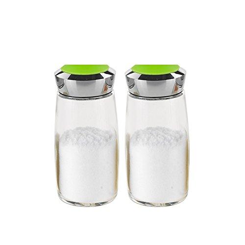 Spice jarGlass Spice jar setOil Salt Shaker kitchen supplies Spice jar-A