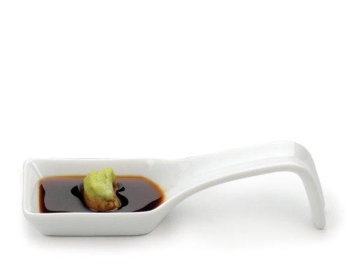 RSVP Square Porcelain Appetizer Spoons