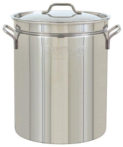 Bayou Classic 1044 44-quart Stainless-steel Stockpot