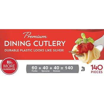 Berkley Jensen Premium Plastic Cutlery 140 ct x2 AS