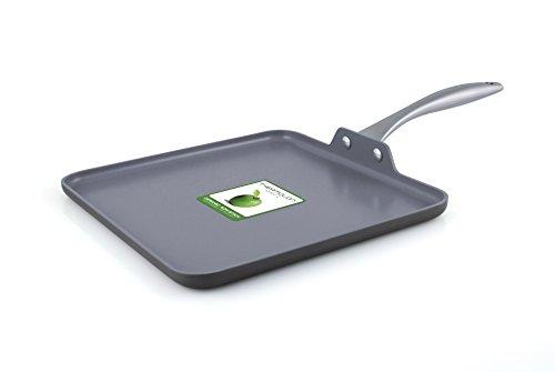 Greenpan Lima 11 Inch Hard Anodized Non-stick Ceramic Square Griddle