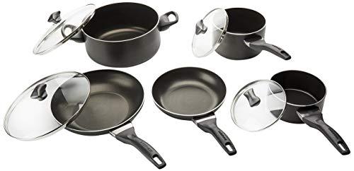 Farberware 21806 Cookware Set Black Renewed