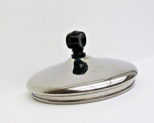 Farberware Cookware Pan Lid 7 Outside Diameter Fits 6 58 Inside Diameter Pans Stainless Steel