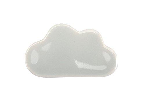 Dailylike Chopstick Utensil Rest 01 White Gray Cloud
