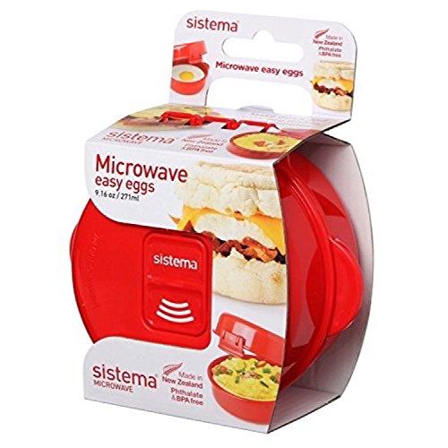 Sistema Microwave  Cookware Easy Eggs Red 916 Oz271 ml