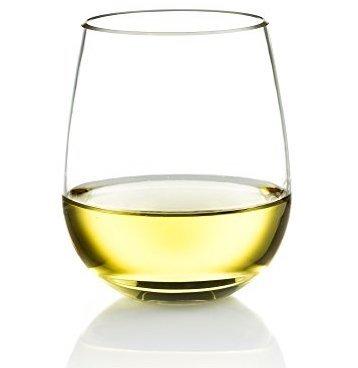 Poolside Unbreakable Stemless Plastic Wine Glasses ~ Elegant Durable Reusable Glassware ~ Sophisticated Design ~ Shatterproof Dishwasher Safe Indoor  Outdoor Barware ~ 100 Tritan ~ Set of 4 ~ 16 oz