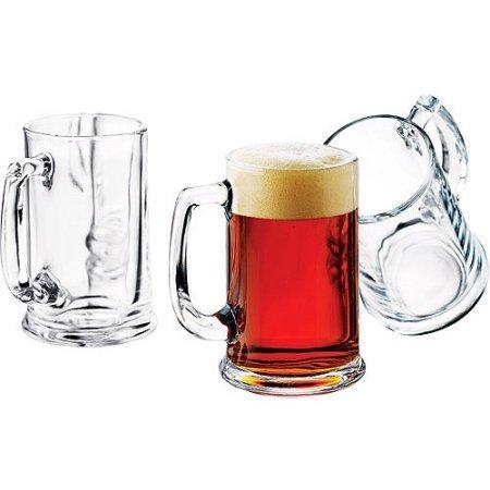 Libbey 16-oz Brewmaster Beer Mugs Set of 6