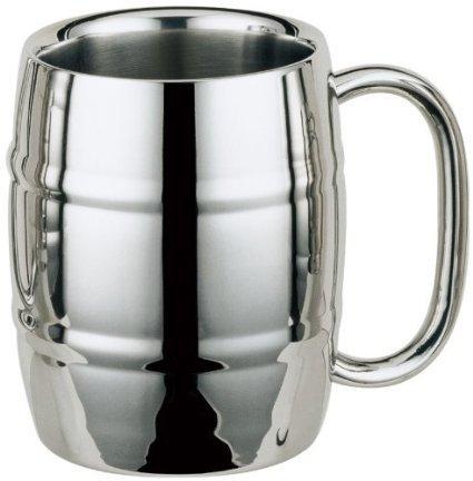 Stainless Steel MugBarrel Mug Coffee Mug Beer Mug 16oz 1