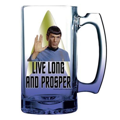 Star Trek Spock 16 oz Beer Mug