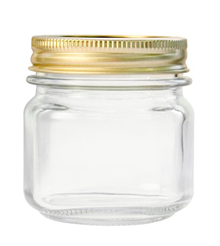 Anchor Hocking Home Canning Jars with Metal Lids Rings Clear 12 pint