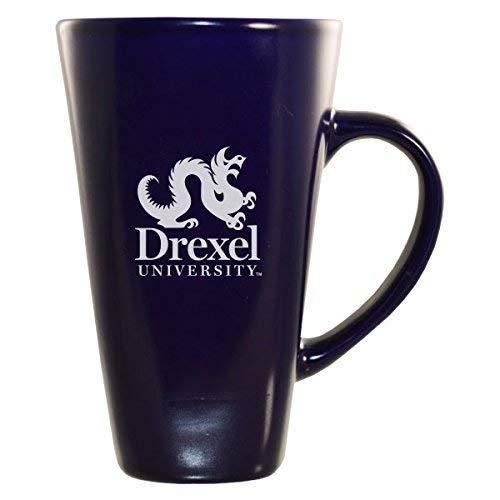 LXG Inc Drexel University -16 oz Tall Ceramic Coffee Mug-Blue