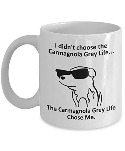 Carmagnola Grey Coffee Mug
