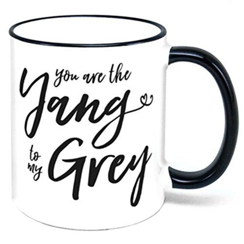 You Are The Yang To My Grey Coffee Mug