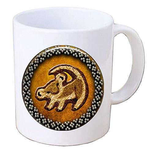Lion Coffee MugLion Charm Coffee MugLion JewelleryLion Gift IdeaSimple Coffee Mug Lion Jewelry Everyday Jewelry,PU020