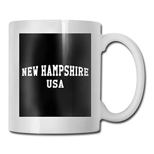 New Hampshire - NH Simple Ceramic Coffee Mug Ideas Mug Best Family And Birthday Present Cup 11 OZ