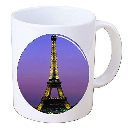Tower Coffee Mug Silver Charm Coffee Mug Layering Minimalist Coffee Mug Simple Coffee Mug Delicate Minimal everyday jewelry giftsBV189