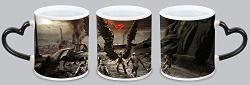 Hot Personalized Photo Coffee Mug God Of War III God of War Hot Magic Color Changing Cup
