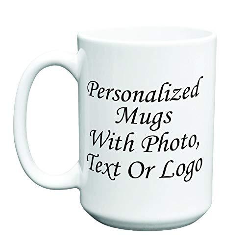 Personalized Photo Coffee Mug 11oz 15oz 20oz Customized Text Logo Family Picture 15oz
