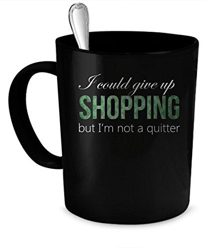 Shopping Coffee Mug Shopping gift 11 oz black