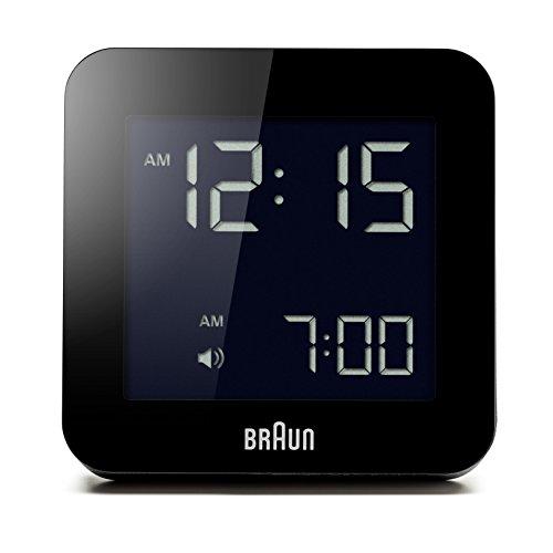 Braun BNC009BK Digital Quartz Alarm Clock