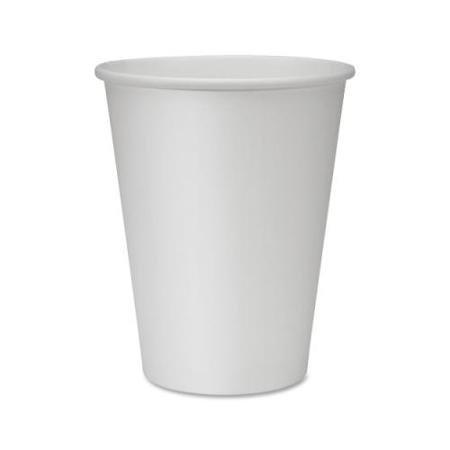 Bundle 250 Genuine Joe Disposable Hot Cups White GJO19047