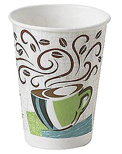 Dixie Perfectouch Disposable Hot Cups 12 OZ Cups 150 Count