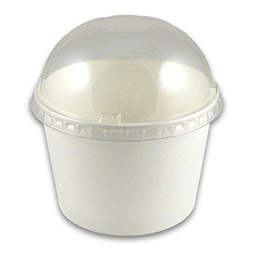 12 oz Paper Cup Dome Lids - 1000  Case