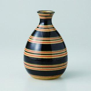 Japanese porcelain Hasami ware komasujimon tokkuri sake bottle hsm-J39-14033