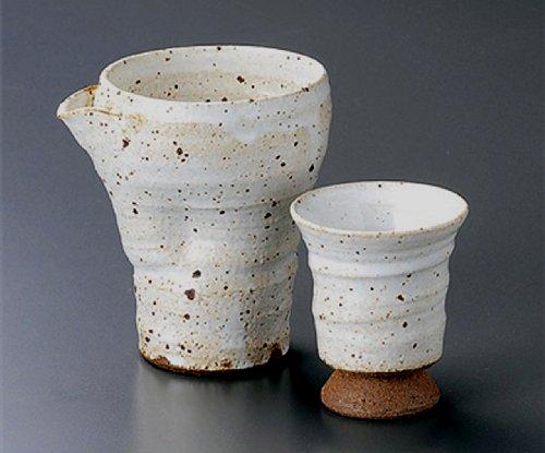 KOBIKI-KATAKUCHI Jiki Japanese Porcelain SAKE Set