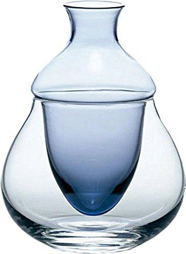 Carafe variation with ice pocket  cold sake Carafe