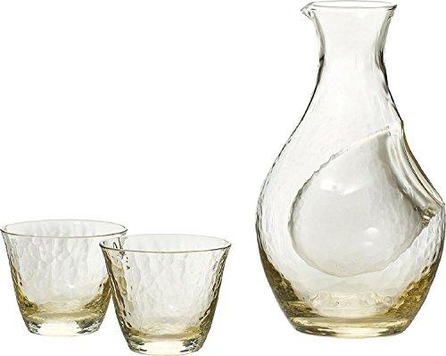 Takase  amber  cold sake set G604-M72