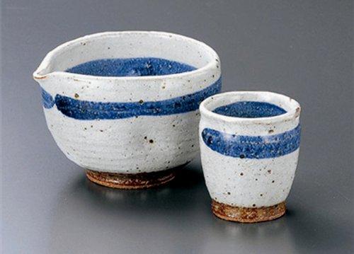 GOSUMAKI Tohki Japanese Pottery SAKE Set 44inches Set of 5 SAKE Sets Japanese original Porcelain