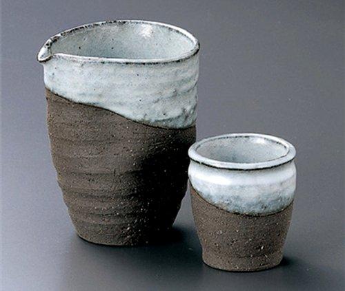 KIN-YOU Tohki Japanese Pottery SAKE Set 38inches Set of 10 SAKE Sets Japanese original Porcelain