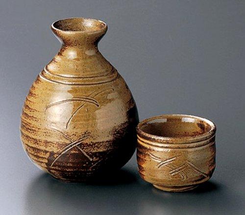 NANBAN Tohki Japanese Pottery SAKE Set