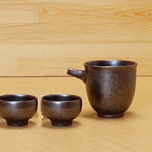 Imari Pottery Japanese Sake One Way Server 2 Guinomi Sake Cups Set 02108058 02108059
